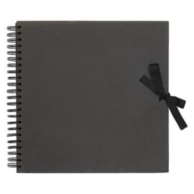 Альбом для скрапбукинга - Black 20,5см X 20,5см, 40 страниц