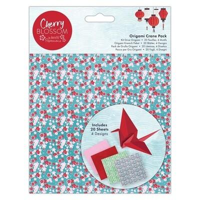 Набор бумаги для оригами Cherry Blossom 150x150mm, 20 листов