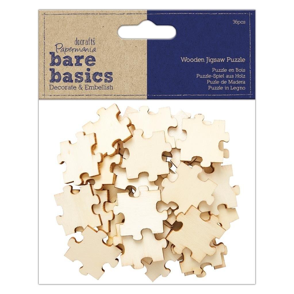 Набор деревянных фигурок Jigsaw Puzzle 36 шт