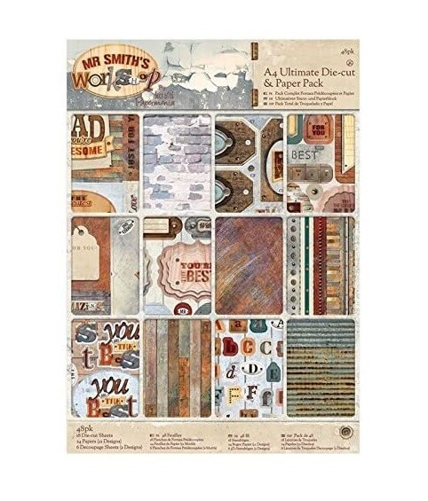 Набор бумаги A4 docrafts (48шт)