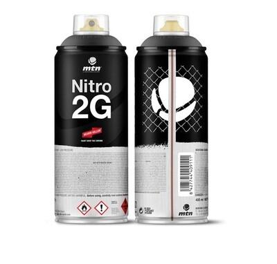 Краска аэрозольная NITRO 2G Черный 400 мл