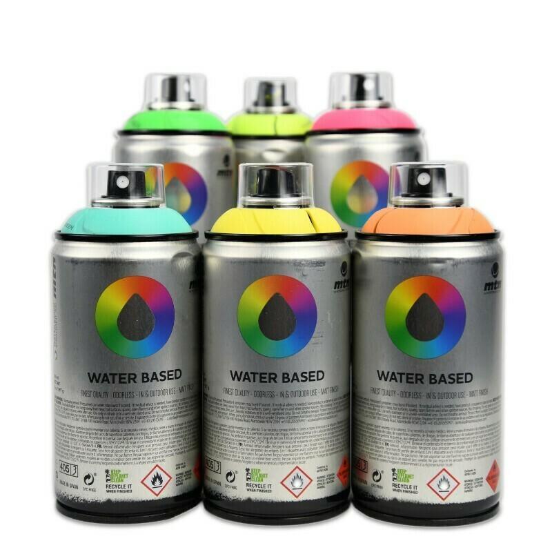 Аэрозольная краска MTN Water Based 300 мл