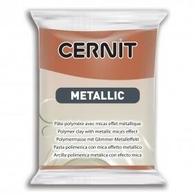 Полимерная глина 56 гр Cernit Metallic