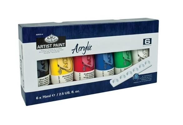 Набор акриловых красок Royal & Langnickel 6*75 мл
