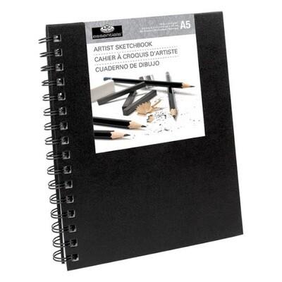 Альбом для набросков Royal & Langnickel A5, 110  гр, 80 листов