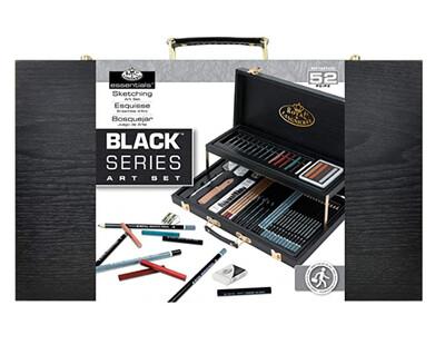 Set pentru schite Royal & Langnickel Black Series (52 buc, 2 nivele)