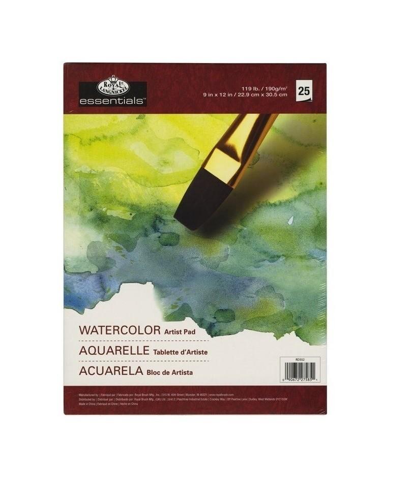 Альбом для акварели Royal & Langnickel 22.9x30.5 см, 190 гр, 25 листов