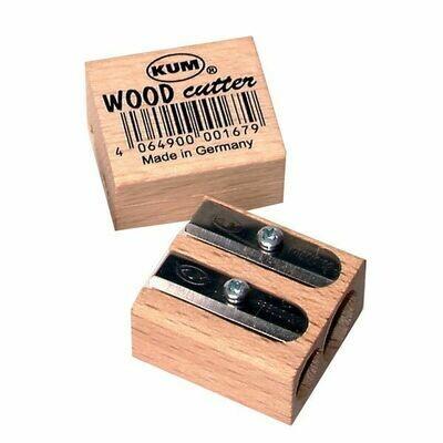 Точилка деревянная Kum двойная