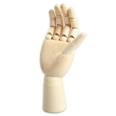 Манекен художественный (мужская рука) для рисования, 24 см