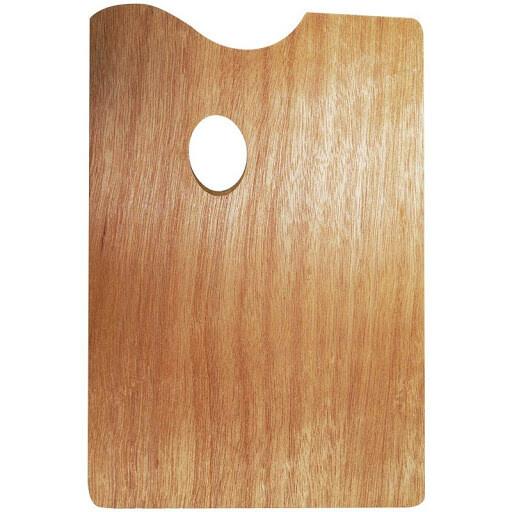 Палитра деревянная прямоугольная Renesans 30*40 см