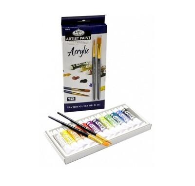 Краски акриловые в наборе Royal&Langnickel   12х12 мл