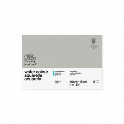 Bloc acuarela 300 g/mp Postcard Pad
