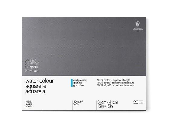 Блок для акварели Winsor&Newton Professional Фин 31x41 см, 20 листов