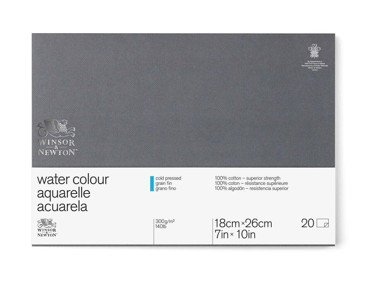 Блок для акварели Winsor&Newton Professional Фин 18x26 см, 20 листов