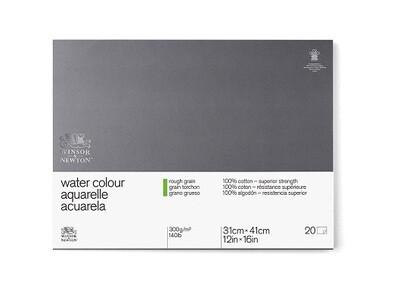 Блок для акварели Winsor&Newton Professional Торшон 31x41 см, 20 листов