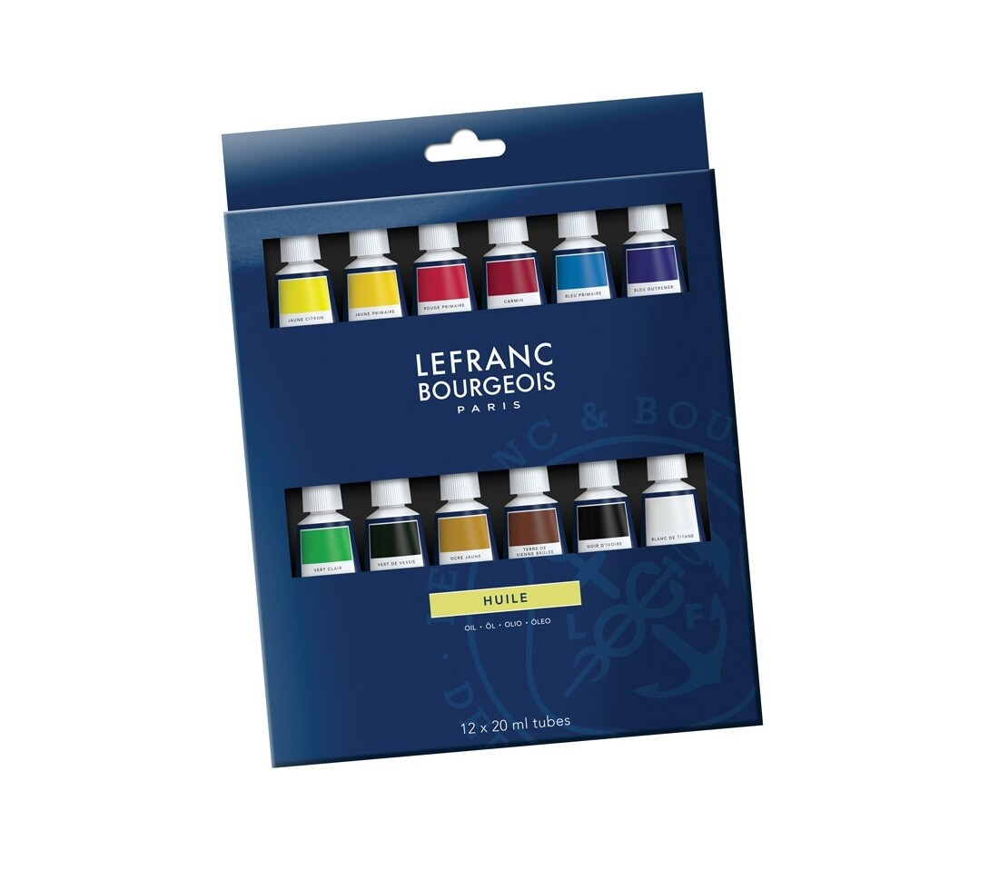 Набор масляных красок Lefranc&Bourgeois 12x20ml
