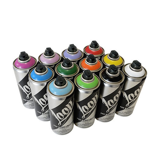 Spray acrilic Loop Colors 400 ml