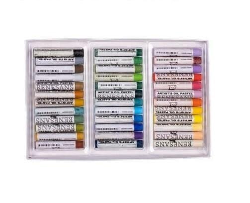 Set pastel de ulei Renesans 36 culori