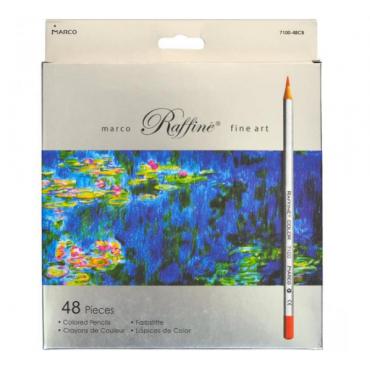 Набор цветных карандашей MARCO 48 цветов