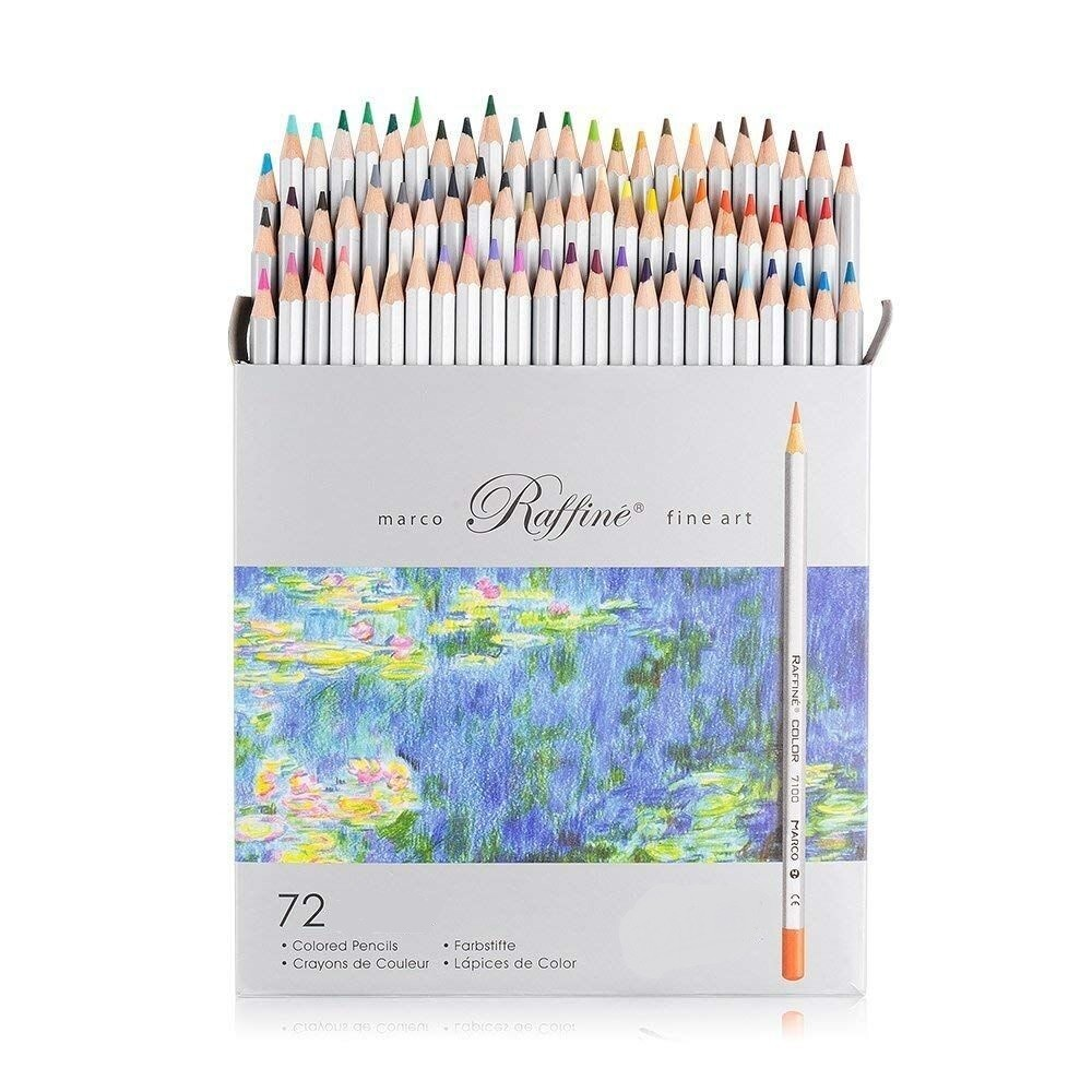 Набор цветных карандашей MARCO 72 цвета