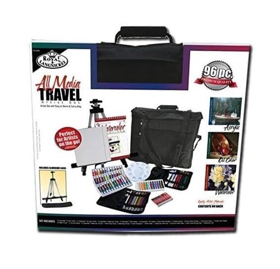 Royal & Langnickel Travel Easel Set