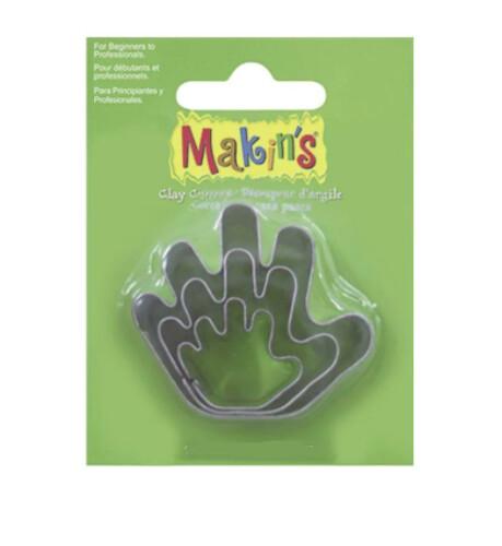 Набор каттеров Makin's «Рука», 3 шт