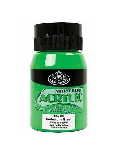 Vopsea acrilica Royal&Langnickel 500 ml (cadmium green)
