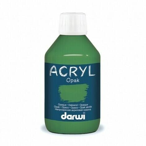 Vopsea acrilica Darwi Opak 250 ml (dark green)