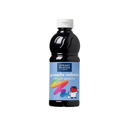 Guașă Redimix 500ml neagra