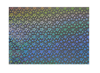 Картон голографический Folia Holographic Card 230г/м2, 50х70 см