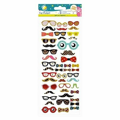 "Наклейки Craft Planet ""Glasses&Mustaches"""