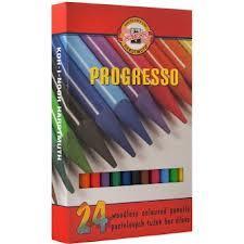 Набор карандашей цветных 24цв Progresso