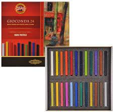 Пастель Koh-i-Noor Gioconda масляная 24 цвета