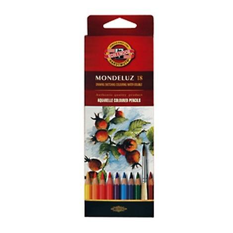 Набор карандашей цветных акварельных Koh-I-Noor Mondeluz 18 цв