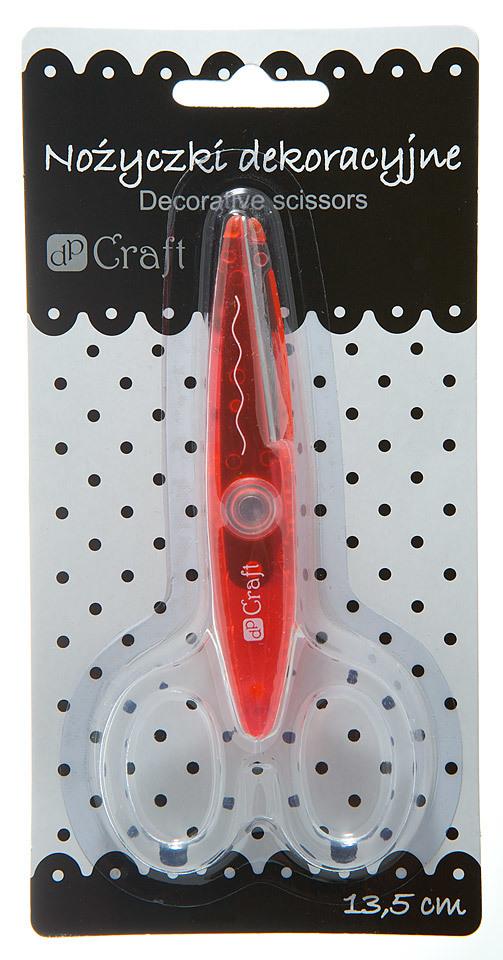 Ножницы фигурные DpCraft 13,5см