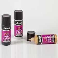 Контур Darwi Paint&Peel серебро 80мл