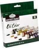 Набор масляных красок Royal 6шт*21мл