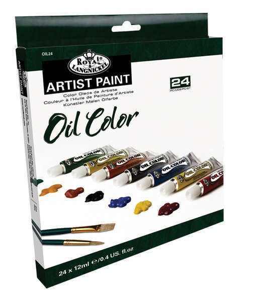 Набор масляных красок Royal 24шт*12мл