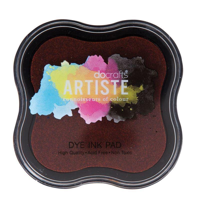 Тушь для штампов Dye Ink Pads Docrafts