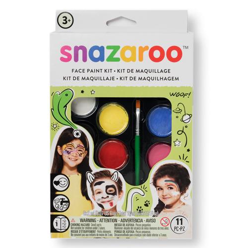 Аквагрим Snazaroo 8 цветов (хватает на 50 лиц)