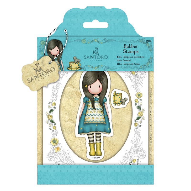 Штампы DOCRAFTS Rubber Stamps - Santoro - The Little Friend