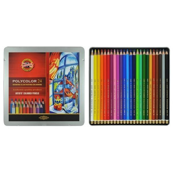 KOH-I-NOOR Цветные карандаши Polycolor 24цв.