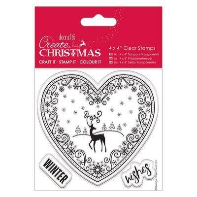 Набор штампов 10x10см - Happy Christmas