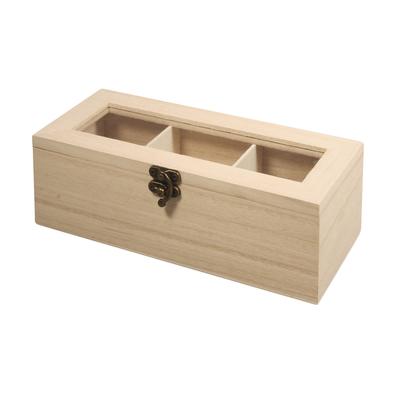 Коробки для чая 3 секции