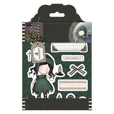 Штампы DOCRAFTS Rubber Stamps - Santoro Tweed - Nightlight