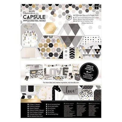 Набор бумаги A4 docrafts (48шт) - MONO