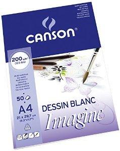 Альбом Canson Imagine формата A4 (50листов)