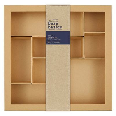 Коробка Shadow Box docrafts 30*30см