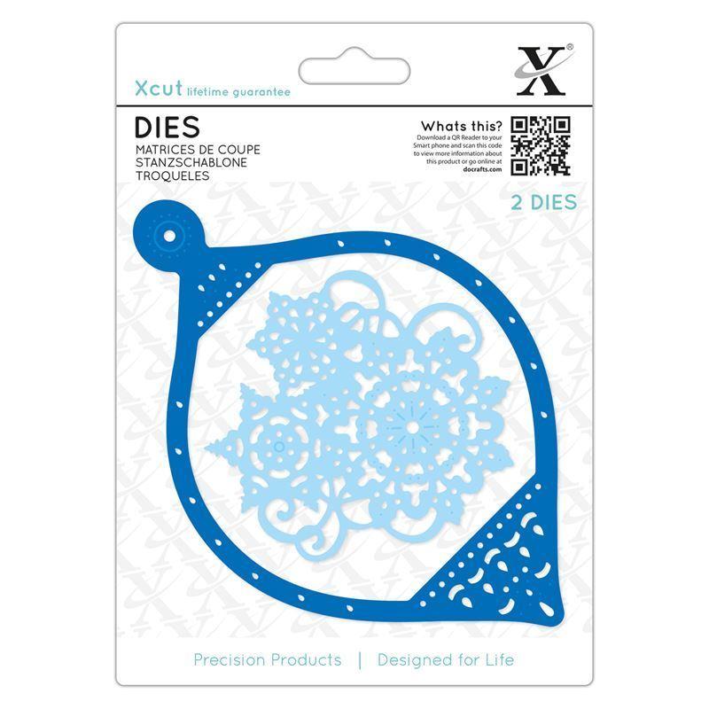 Форма для вырубки Xcut - Snowflake Bauble