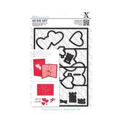 Форма для вырубки Xcut - Pop Up Card Love